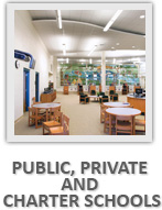 PUBLIC, PRIVATE AND CHARTER SCHOOLS