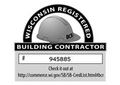 Wisconsin Building Contractor Registration