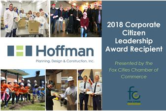 Hoffman Receives 2018 Corporate Citizen Leadership Award