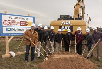 Lincoln Contractors Supply Breaks Ground