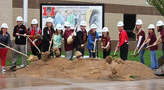 School District of Manawa Breaks Ground